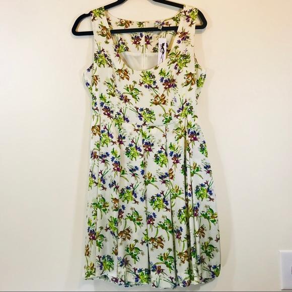 BB Dakota Dresses & Skirts - BB Dakota Betty Draper Floral Silk Dress - #1122